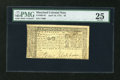 Colonial Notes:Maryland, Maryland April 10, 1774 $2 PMG Very Fine 25....