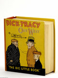 Memorabilia:Comic-Related, Big Little Book 723 Dick Tracy Out West (Whitman, 1933) Condition: NM. Hardcover, by Chester Gould. Comes in a protective bo...