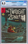 Silver Age (1956-1969):Adventure, Four Color #1173 Twilight Zone (Dell, 1961) CGC VF+ 8.5 White pages....