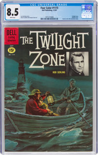 Four Color #1173 Twilight Zone (Dell, 1961) CGC VF+ 8.5 White pages