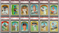 Baseball Cards:Sets, 1972 Topps Baseball High-Grade Complete Set (787) With All Stars & Hall of Famers Graded PSA NM-MT 8 or Higher. ...