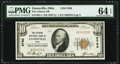 Zanesville, OH - $10 1929 Ty. 1 The Citizens National Bank Ch. # 5760 PMG Choice Uncirculated 64 EPQ.</