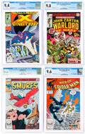 Modern Age (1980-Present):Miscellaneous, Bronze to Modern Age Comics CGC-Graded Group of 5 (Various Publishers, 1970s-1990s).... (Total: 5 Comic Books)