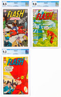 Silver Age (1956-1969):Superhero, The Flash #171, 176, and 177 CGC-Graded Group (DC, 1967-68).... (Total: 3 Comic Books)