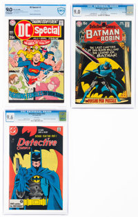 DC Silver-Modern Age Comics Certified Group of 4 (DC, 1969-87).... (Total: 4 Comic Books)