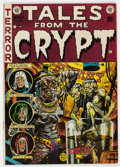 Golden Age (1938-1955):Horror, Tales from the Crypt #33 (EC, 1952) Condition: VG+....