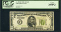 Fr. 1953-F $5 1928C Federal Reserve Note. PCGS Very Fine 20PPQ