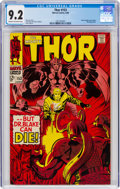 Silver Age (1956-1969):Superhero, Thor #153 (Marvel, 1968) CGC NM- 9.2 Cream to off-white pages....