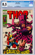 Silver Age (1956-1969):Superhero, Thor #168 (Marvel, 1969) CGC VF+ 8.5 White pages....