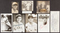 Autographs:Index Cards, Baseball Legends Signed Items, Lot of 8. Offered ...