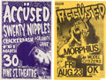 Music Memorabilia:Posters, The Accüsed Pine Street Theatre and OK Hotel Concert Posters (2) (circa early 1990s).... (Total: 2 Items)