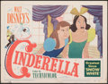 "Movie Posters:Animation, Cinderella (RKO, 1950). Fine+. Lobby Card (11"" X 14""). Animation.. ..."