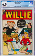 Golden Age (1938-1955):Humor, Willie Comics #7 (Marvel, 1947) CGC FN 6.0 Off-white to wh...