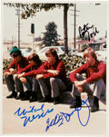 """Music Memorabilia:Autographs and Signed Items, The Monkees Signed Color 8"""" X 10"""" Photo. ..."""