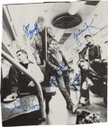 Music Memorabilia:Autographs and Signed Items, New Kids on the Block Signed Advertisement. ...