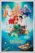 """Movie Posters:Animation, The Little Mermaid (Buena Vista, 1989). Folded, Very Fine+. One Sheet (27"""" X 41""""). DS. Animation.. ..."""