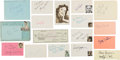 Movie/TV Memorabilia:Autographs and Signed Items, White Christmas Cast and Crew Autograph Collection (17) (1954). ...