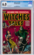 Golden Age (1938-1955):Horror, Witches Tales #8 (Harvey, 1952) CGC FN 6.0 Cream to off-white pages....