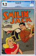 Golden Age (1938-1955):Adventure, Four Color #58 Smilin' Jack (Dell, 1944) CGC NM- 9.2 Cream to off-white pages....