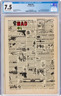 Golden Age (1938-1955):Humor, MAD #21 (EC, 1955) CGC VF- 7.5 Off-white to white pages.