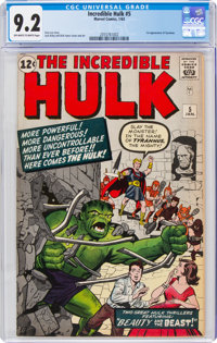 The Incredible Hulk #5 (Marvel, 1963) CGC NM- 9.2 Off-white to white pages