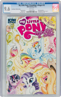 My Little Pony: Friendship is Magic #12 Cover B - Sara Richard 1 Million Edition - Only Copy Produced (IDW Publishing, 2...