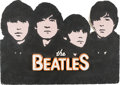 Music Memorabilia:Memorabilia, The Beatles Large Styrofoam Display (circa 1970s)....