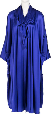 Farrah Fawcett Owned Blue France Haneva Robe