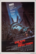 "Movie Posters:Science Fiction, Escape from New York (Avco Embassy, 1981). Folded, Fine+. One Sheet (27"" X 41""). Barry Jackson Artwork. Science Fiction.. ..."
