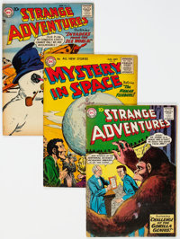 Strange Adventures Group of 12 (DC, 1955-69) Condition: Average VG-.... (Total: 12 Comic Books)