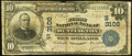 National Bank Notes:West Virginia, Huntington, WV - $10 1902 Date Back Fr. 616 The First National Bank Ch. # (S)3106 Very Good-Fine.. ...