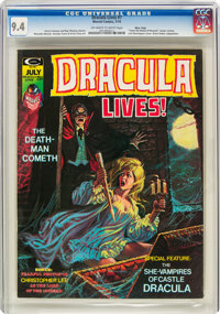 Dracula Lives! #7 (Marvel, 1974) CGC NM 9.4 Off-white to white pages