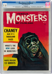 Famous Monsters of Filmland #8 (Warren, 1960) CGC FN/VF 7.0 Off-white pages
