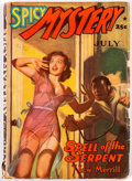 Pulps:Detective, Spicy Mystery Stories - July 1941 (Culture) Condition: GD/VG....