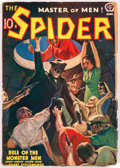 Pulps:Hero, The Spider - June 1939 (Popular) Condition: GD/VG....