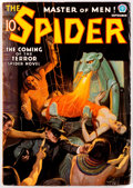 Pulps:Hero, The Spider - September 1936 (Popular) Condition: FN+....