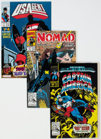 Captain America Group of 45 (Marvel, 1992-93) Condition: Average NM-.... (Total: 45)