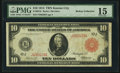 Fr. 901b $10 1914 Red Seal Federal Reserve Note PMG Choice Fine 15