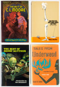 Books:Hardcover, Assorted Sci-Fi and Crime Fiction Hardcover Anthologies Group of 11 (Various, 1940-90) Condition: Average FN.... (Total: 11 Items)