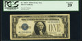 Small Size:Silver Certificates, Fr. 1601* $1 1928A Silver Certificate. PCGS Very Fine 20.. ...