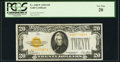 Small Size:Gold Certificates, Fr. 2402* $20 1928 Gold Certificate. PCGS Very Fine 20.. ...