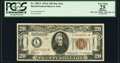Small Size:World War II Emergency Notes, Fr. 2305* $20 1934A Hawaii Federal Reserve Note. PCGS Apparent Very Fine 25.. ...