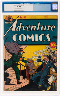 Adventure Comics #51 (DC, 1940) CGC VF 8.0 Cream to off-white pages