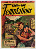 Golden Age (1938-1955):Romance, Teen-Age Temptations #4 (St. John, 1953) Condition: GD-....