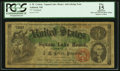 """Obsoletes By State:New Hampshire, Ashland, NH- J. M. Cotton - Squam Lake House """"3"""" Advertising Note ND (ca. 1877) PCGS Apparent Fine 15.. ..."""