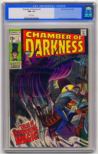 Chamber of Darkness #1 (Marvel, 1969) CGC NM- 9.2 White pages