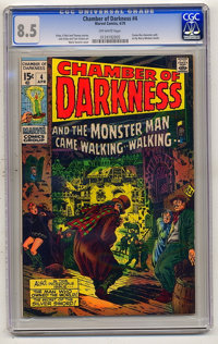 Chamber of Darkness #4 (Marvel, 1970) CGC VF+ 8.5 Off-white pages