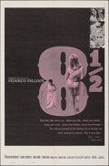 """Movie Posters:Foreign, 8½ (Embassy, 1963). Folded, Very Fine-. One Sheet (27"""" X 41""""). Foreign.. ..."""