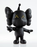 Collectible, KAWS (b. 1974). JPP (Black), 2008. Painted cast vinyl. 7-3/4 x 5 x 3 inches (19.7 x 12.7 x 7.6 cm). Stamped on the under...
