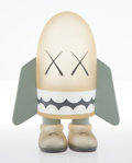 Collectible, KAWS (b. 1974). Blitz (Grey), 2004. Painted cast vinyl. 5-1/2 x 4-1/4 x 3-1/2 inches (14 x 10.8 x 8.9 cm). Stamped on th...